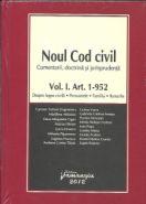 Noul Cod civil | Vol. I. Art. 1-952 | Despre legea civila. Persoanele. Familia. Bunurile