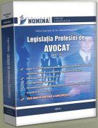Legislatia profesiei de AVOCAT, editia a III-a, 2012, cu teste grila