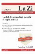 Codul de procedura penala si legile conexe, Ed. a VII-a | Coordonator: Cioclei Valerian