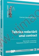 Tehnica redactarii unui contract. Elementele contractului. Redactarea clauzelor contractuale | Carte de: Carmen Nicoleta Barbieru