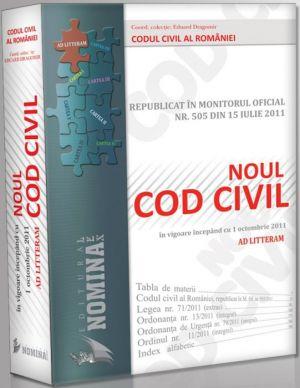 Pachet PROMO: 10 buc. X Noul Cod Civil Republicat (Ad litteram - editie cartonata, noiembrie 2011)