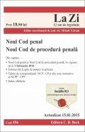 Noul Cod penal si Noul Cod de procedura penala | Actualizare: 15.01.2015