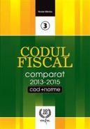 Codul Fiscal Comparat 2013-2015 (Cod si Norme) | Autor: NICOLAE MANDOIU