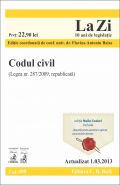 Codul civil 2013 | Coordonator: Baias Flavius-Antoniu  | Actualizat la data de 1.03.2013