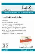 Legislatia societatilor 2013 | Lucrare coordonata de Smaranda Angheni