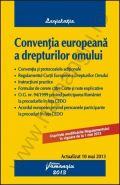 Conventia europeana a drepturilor omului, Editia a VIII-a [Actualizare: 10 mai 2013]