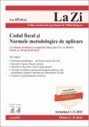 Codul fiscal si Normele metodologice de aplicare | Actualizare: 1 Nov. 2013