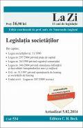Legislatia societatilor. Actualizare: 5 Februarie 2014
