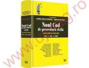 Noul Cod de procedura civila. Comentat si adnotat Vol. I (art. 1-526) | Coordonatori: Viorel Mihai Ciobanu, Marian Nicolae