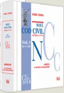 Pachet 2 volume: Noul Cod civil adnotat cu doctrina si jurisprudenta | Autor: Viorel Terzea