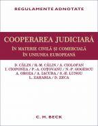 Cooperarea judiciara in materie civila si comerciala in Uniunea Europeana
