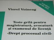 Teste grila pentru magistratura, avocatura si examenul de licenta - Drept procesual civil 2014