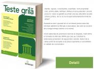 Teste Grila – Drept civil. Drept procesual civil. Drept penal. Procedura penala   2014